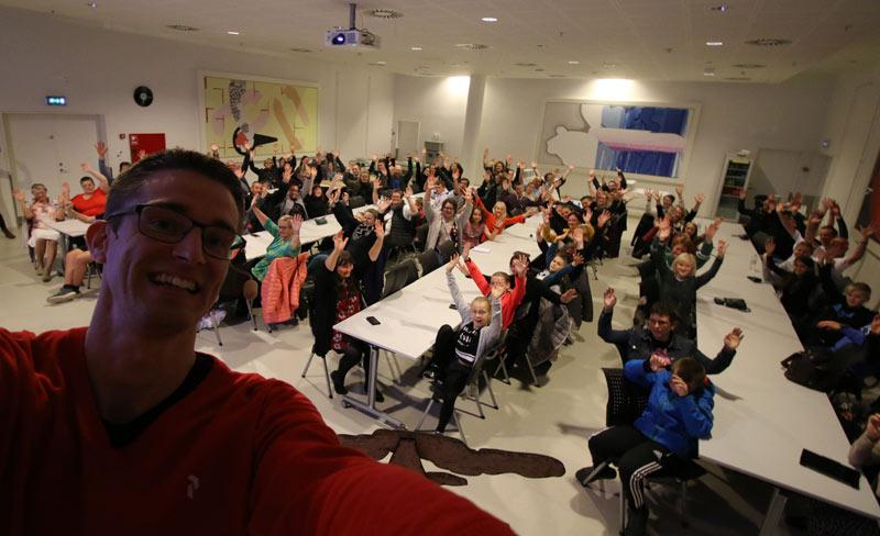Ordblindeuge40 - Foredrag på Hjørring Bibliotek om ordblindhed
