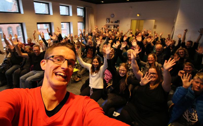 Ordblindeuge40 på Holstebro Bibliotek - Foredrag om at være ordblind