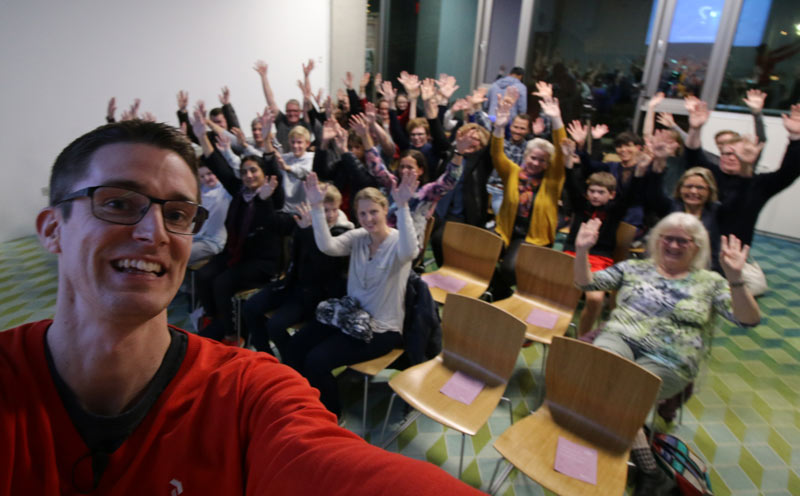 Foredrag til Ordblindeugen om livet som ordblind - Jesper Sehested